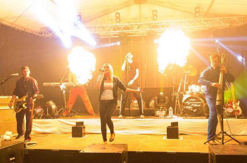 Charity Event bei Aral rockt den Sommer (inklusive Veröffentlichung in Thüringer Allgemeine)