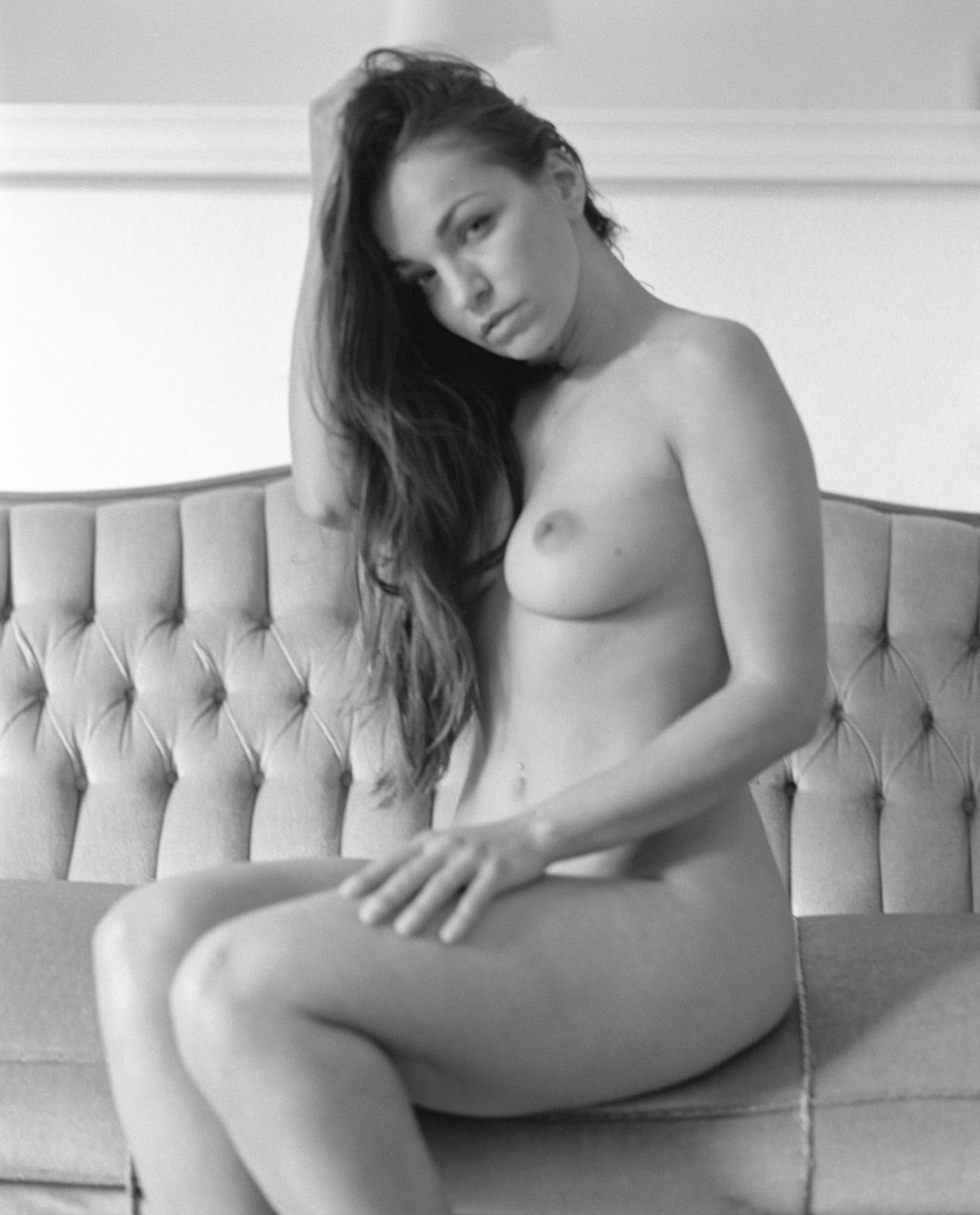 Anastasia auf ihrer Couch