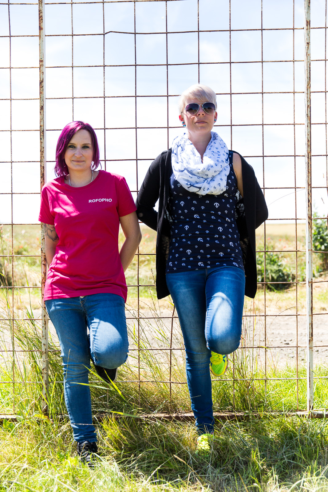 Lifestyle-Fotos mit Sabrina und Nina