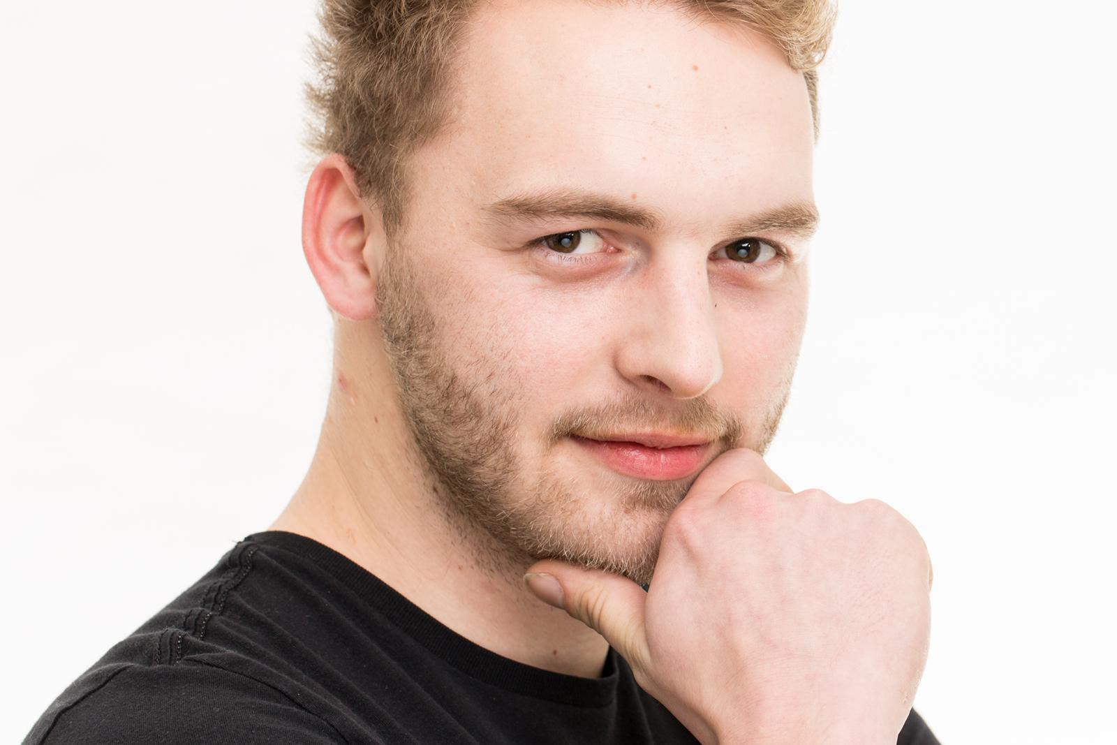 Headshot bzw Portrait von Erik