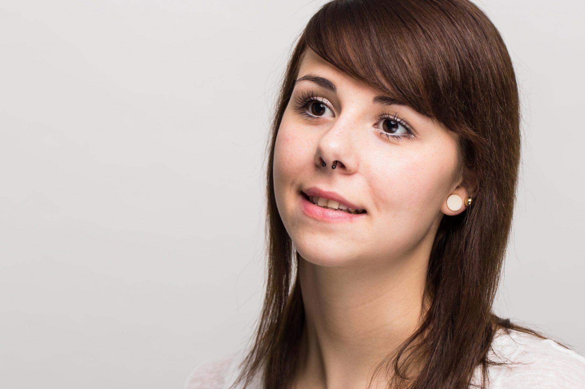 Headshot bzw Portrait von Julia