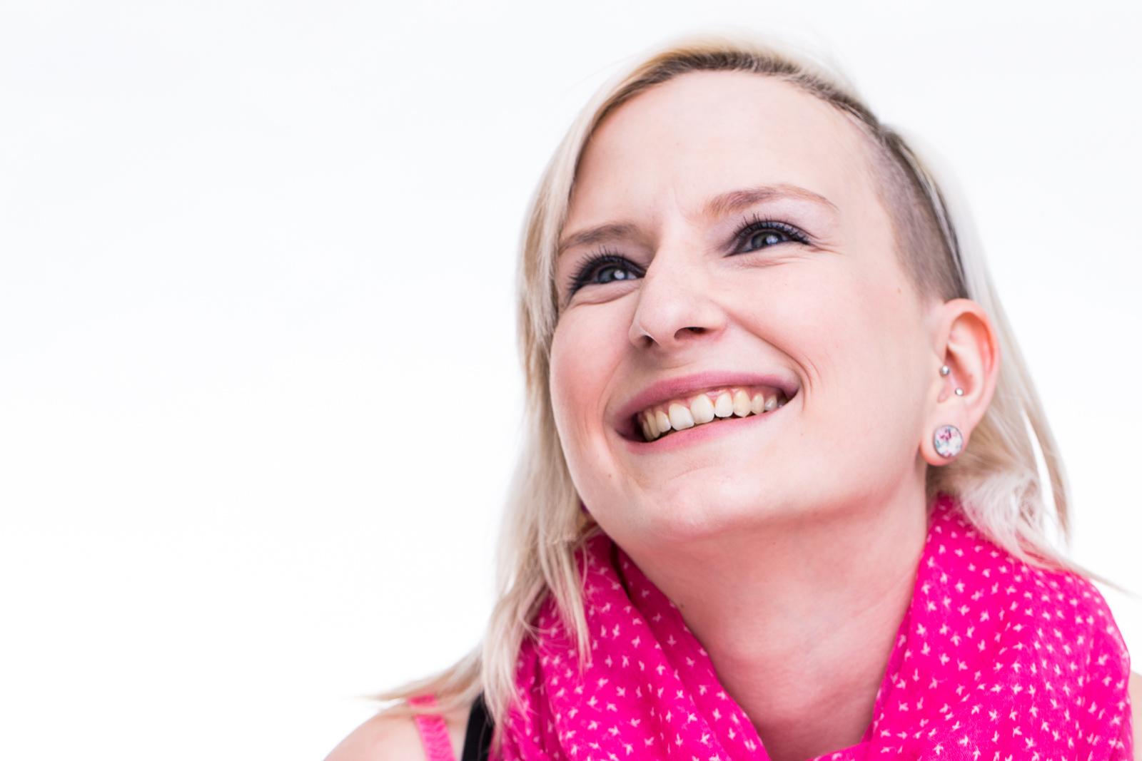 Headshot bzw Portrait von Sabrina